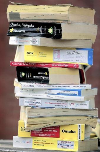 Too Many Phone Books